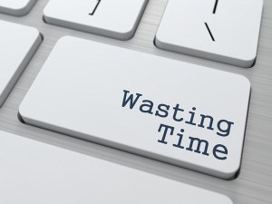 Wasting-Time-Button
