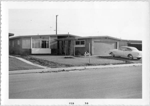 La Puente House Jan 1956 b
