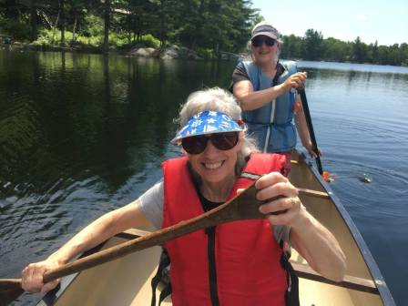 Canoeing on Whetstone Pond (10)